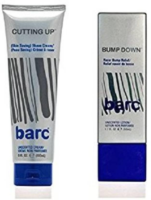 Generic Cutting Up, Unscented Shave Cream,+ Bump Down Razor