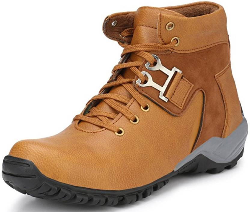 2732cb079c0 Adiso Khaki casual party wear boots shoes for men's Boots For Men