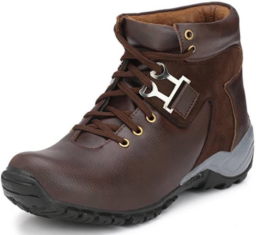 15a52607f28 Adiso Brown casual party wear boots shoes for men's Boots For Men