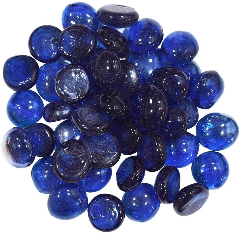 Zevora Natural Mix Blue Pebbles Decorative Stone For Garden