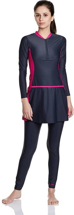 c294982ea87 Speedo Female 2 piece Full Bodysuit Solid Women Swimsuit - Buy ...