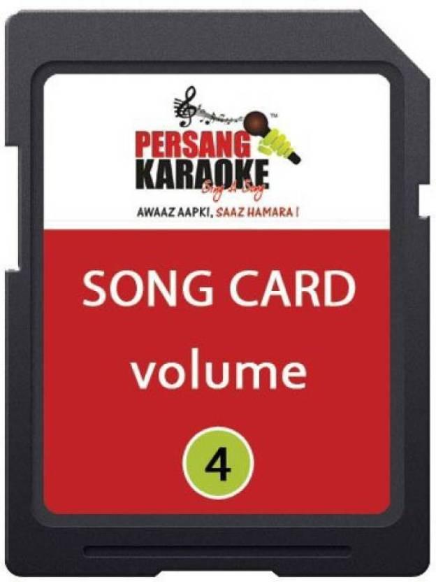 KH Persang Karaoke Song Card Vol 4 (Best of Mohd Rafi & Duet