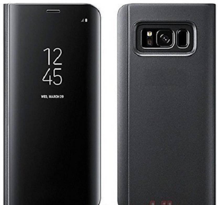 the latest d2d08 4dd71 Midkart Flip Cover for Samsung Galaxy S9 Plus Only Black Sensor Flip ...