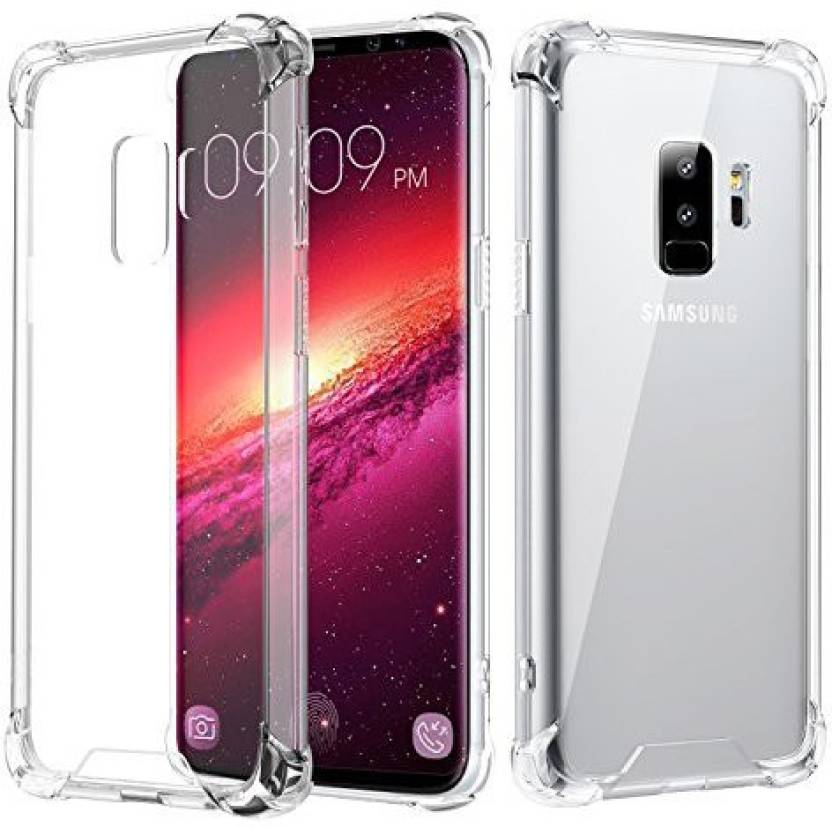 release date: c387c 06bdd Midkart Flip Cover for Samsung Galaxy S9 Plus Transparent 4 Corner ...