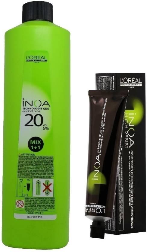 L'Oreal INOA Ammonia Free Permanent Colour 6,45 Dark Copper