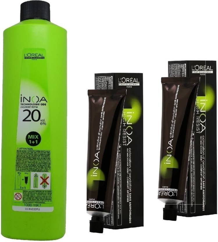 Loreal Inoa Ammonia Free Permanent Colour 512 Light Ash Iridescent
