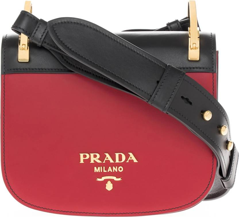 df7c596a7396 Buy Prada Sling Bag Red, Black Online @ Best Price in India ...
