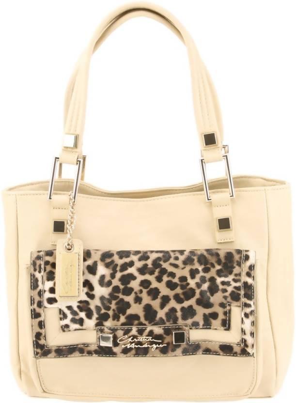 Buy Christian Audigier Shoulder Bag Beige Online   Best Price in ... 63d2654cbd9a5