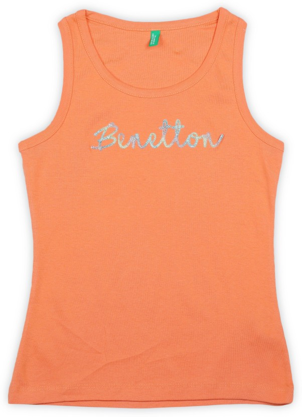 United Colors of Benetton Boys Kniited Tank Top Tanks & Camis
