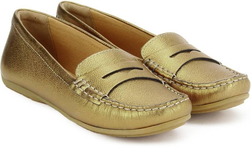 f27cf446d0e Clarks Doraville Nest Gold Metallic Loafers For Women - Buy Gold ...