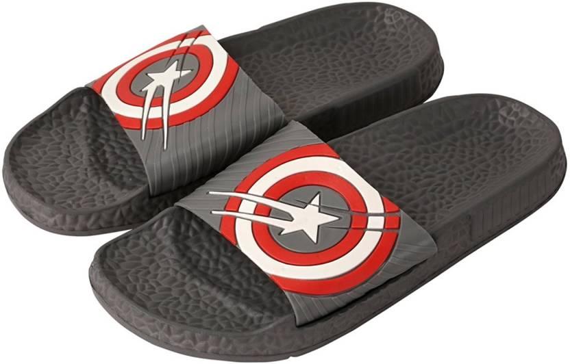 2f43061dd372bb Falcon18 8 Men s Slide Slippers and Flip-Flops In Captain America Design  Slides - Buy Falcon18 8 Men s Slide Slippers and Flip-Flops In Captain  America ...