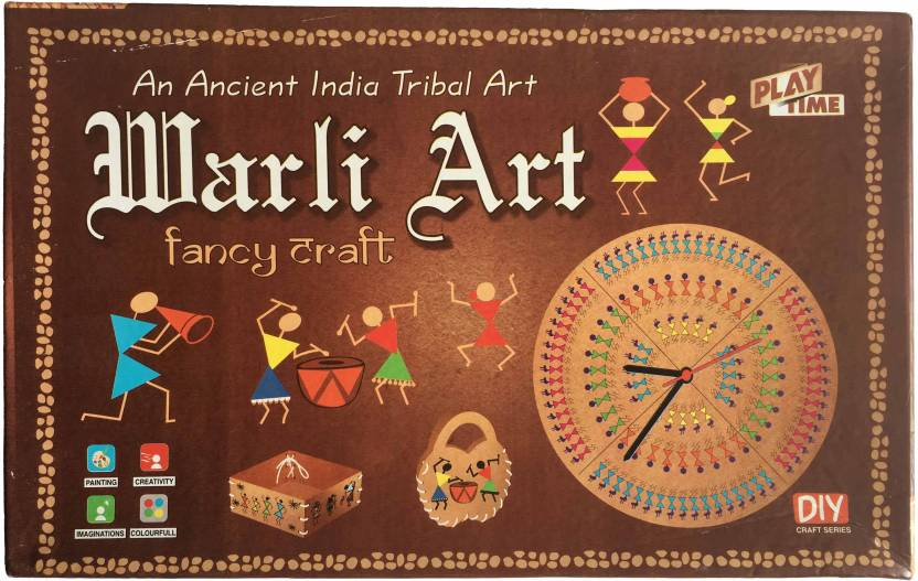 Playtime Warli Art Game For Kids Craft Kits Do It Yourself