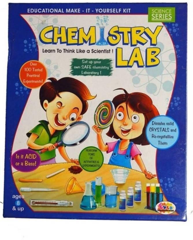 STARSKY Chemistry Lab Educational Science Kit For Boys & Girls Board