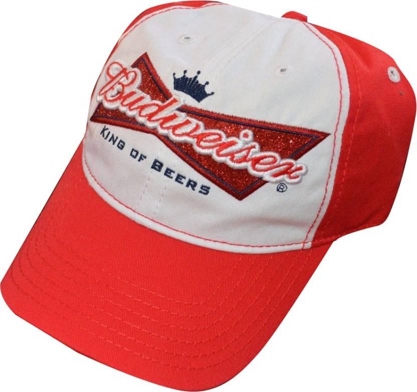 7bc926e3f6be4 Budweiser Baseball Cap - Buy Budweiser Baseball Cap Online at Best ...
