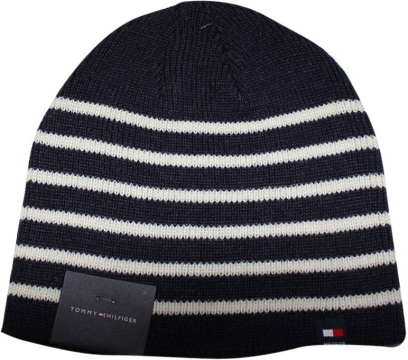 Tommy Hilfiger Beanie Cap - Buy Tommy Hilfiger Beanie Cap Online at Best  Prices in India  3c57784452d
