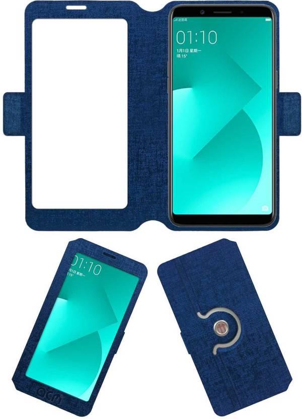 online retailer 6e23f 4c944 ACM Flip Cover for Oppo A83