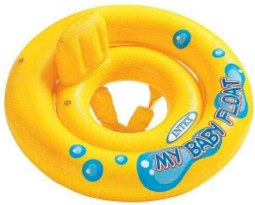 YAMAMA INTEX My Baby Float Inflatable Swimming Pool Tube Raft - 59574  Inflatable Pool Accessory