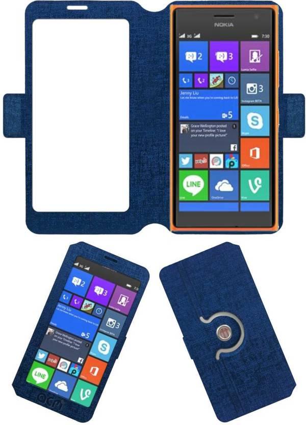premium selection a2ce1 1cae3 ACM Flip Cover for Microsoft Lumia 730 Dual Sim - ACM : Flipkart.com