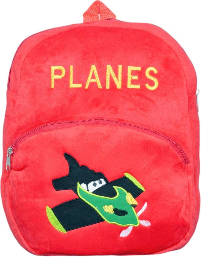 DZert School Bag For Kids Soft Plan Plush Backpack For Small Kids Nursery  Bag (Age 2 to 6 Years) Plush Bag (Red e7cdaa60c77d4
