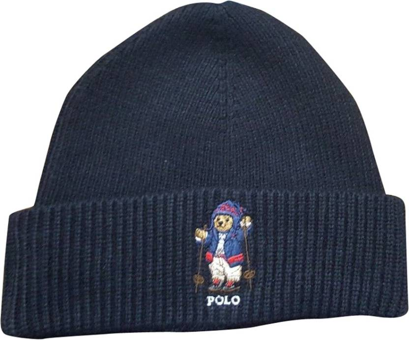 e869d9f64da Polo Ralph Lauren Beanie Cap - Buy Polo Ralph Lauren Beanie Cap Online at  Best Prices in India