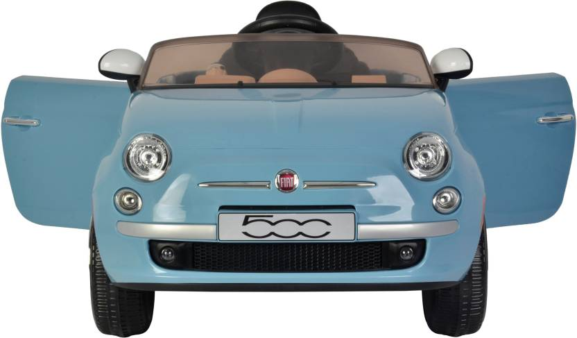 Toyhouse Officially License Fiat 500 Rechargeable Car Battery