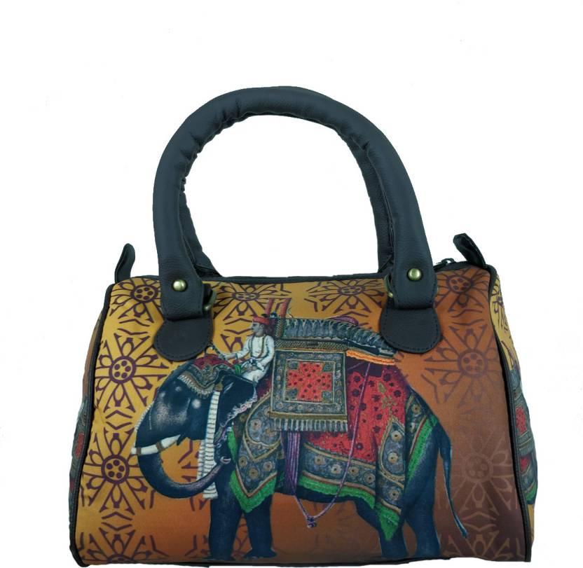 c79f666336 Buy Chelsey Chelsey Hand-held Bag Mustard Online   Best Price in ...