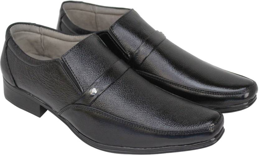 2a80027796b Koscko Genuine Leather office formal casual shoes for Men Corporate Casuals  For Men
