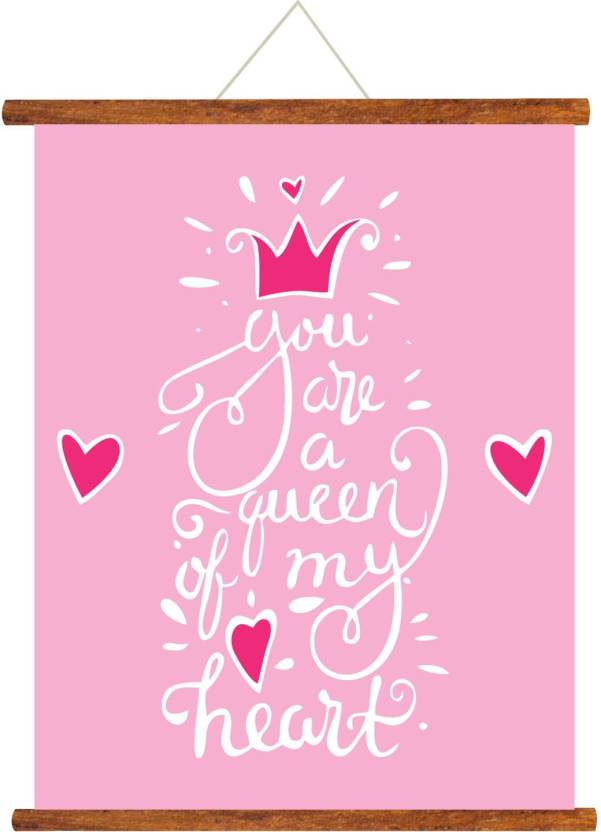 Giftsmate Mothers Day Greeting Cards Mom You Are The Queen Of My Heart Scroll Card For