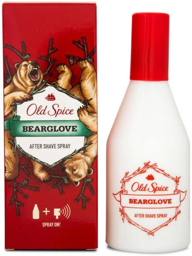 Old Spice Bearglove After Shave Spray - 100ml (100 ml)