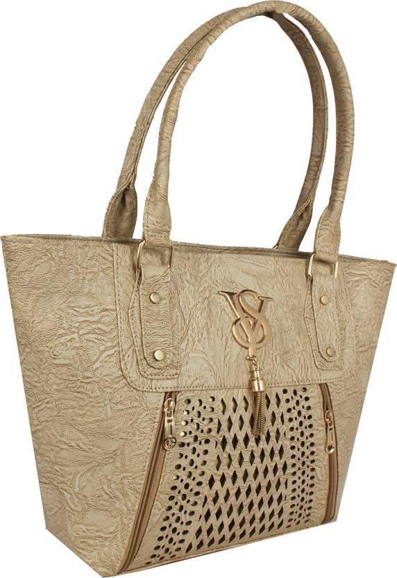 Buy Ayesha Fashion Hand-held Bag Beige Online   Best Price in India ... 2f4ab69ed1092