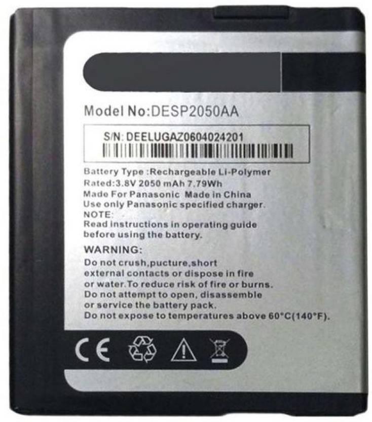 Vnsales Mobile Battery For Panasonic Eluga Z Price In India Buy