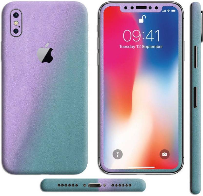 SLICKWRAPS Skin-111 Apple iPhone X Mobile Skin Price in