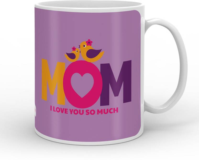 Indigifts Decorative Gift Items Mom I Love You So Much Mothers Day