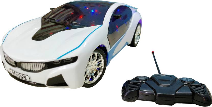 Bonkerz Remote Control Famous Car Bmw I8 Electric Chargeable 3D Lightning   Multicolor  Bonkerz Remote Control Toys