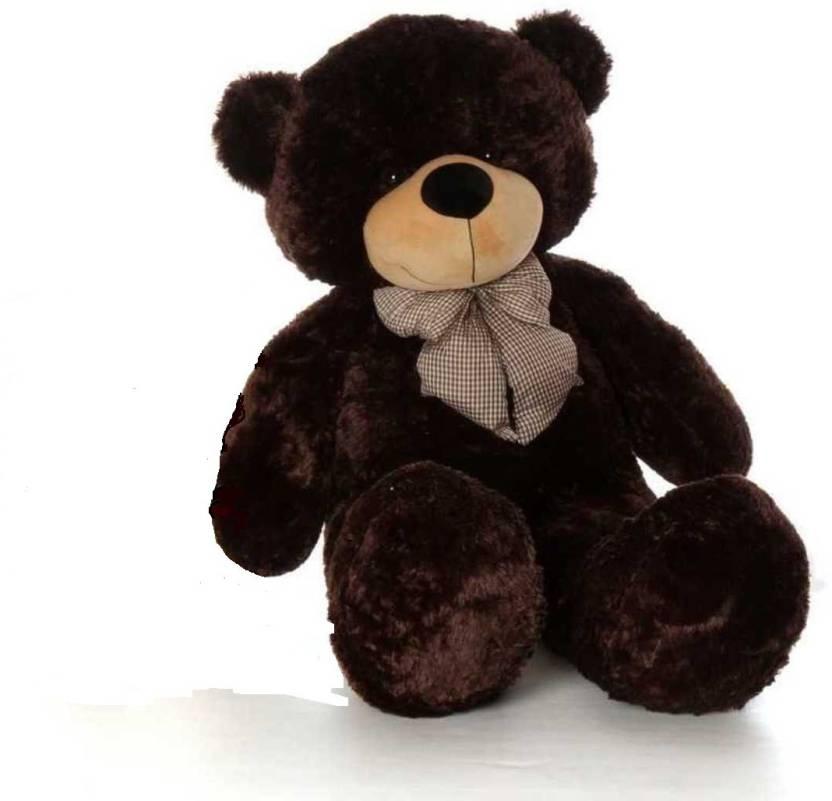 3dd378eed66 pihu enterprises Soft Teddy bear Chocolate Color 5 Feet Long (152 CM) - 300  cm (Brown)