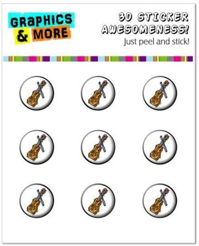 Generic Graphics and More Violin Home Button Stickers Fits