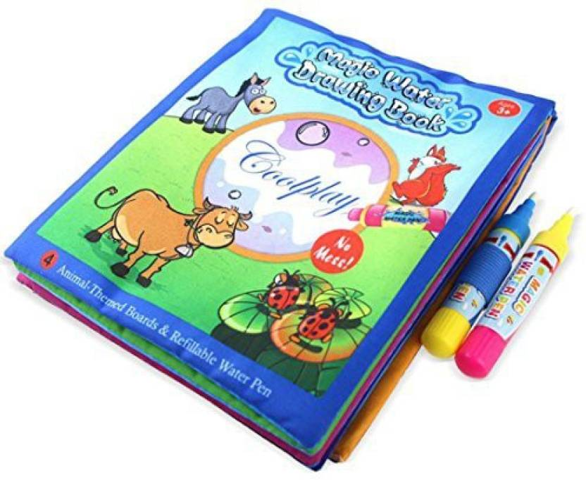 Quartly Children Aquadoodle Water Writing Doodle Board - Drawing ...