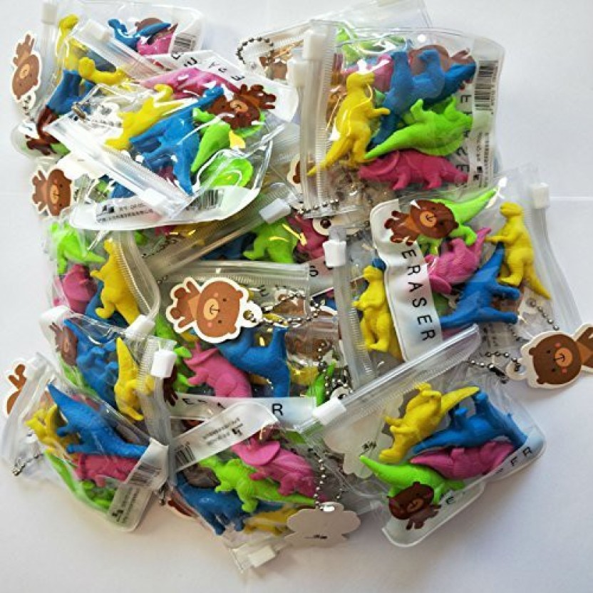 Fast Food Rubber Erasers Party Loot Bag Pinata Fillers Stationary Kids Toys Gift
