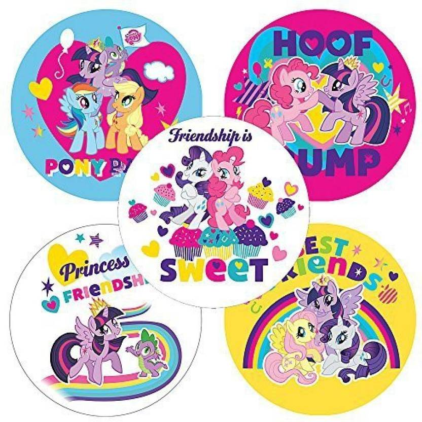 Smilemakers My Little Pony Pals Stickers - Birthday Party
