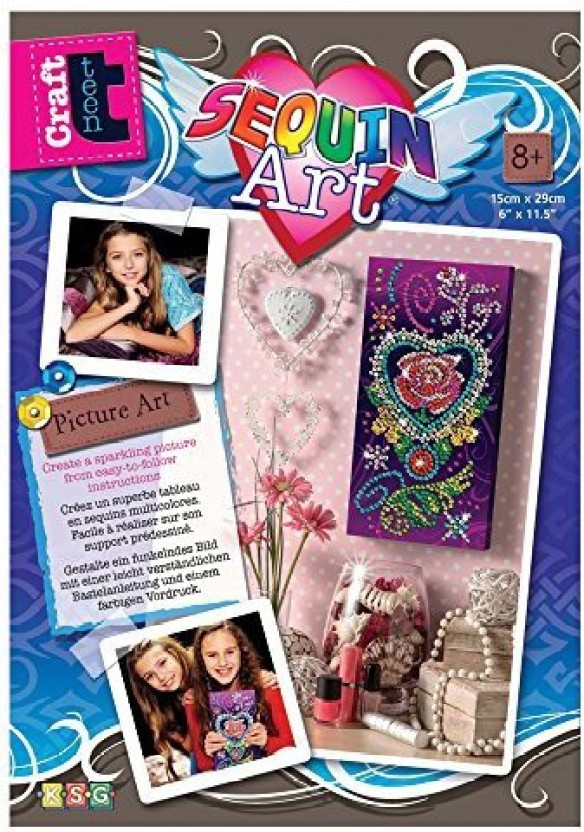 Can teen art products on the the point