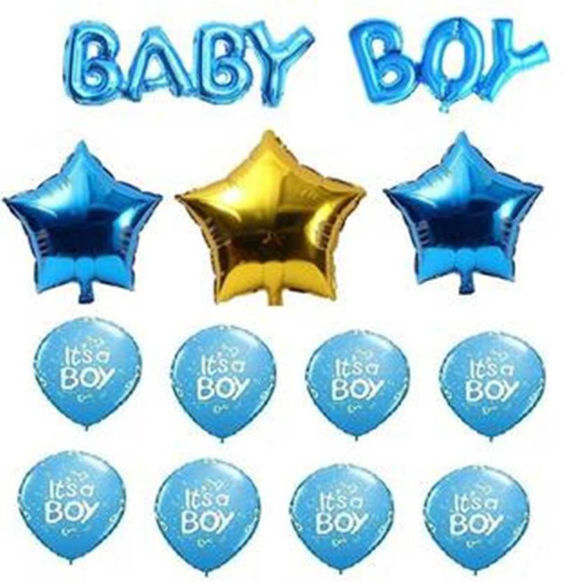 Theme My Party Blue Its A Boy Welcome Baby Decoration