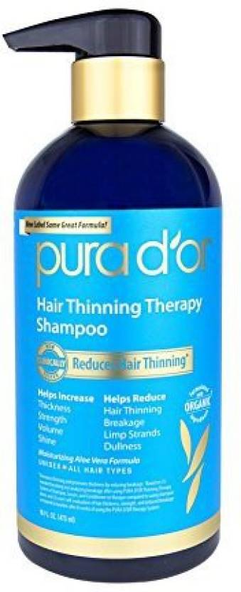 Pura D Or Hair Thinning Therapy Shampoo Infused With Organic Argan