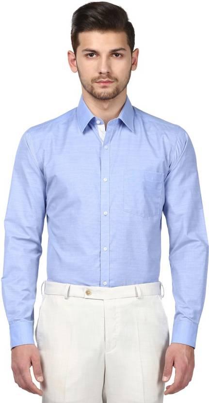3761c437 Park Avenue Men Solid Formal Shirt - Buy Park Avenue Men Solid ...