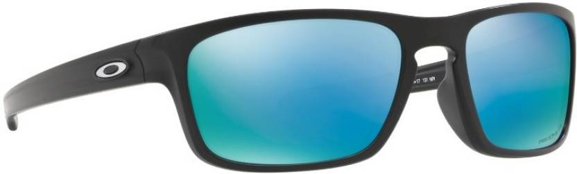 de66ccacee Buy Oakley SLIVER STEALTH Rectangular Sunglass Blue For Men Online ...