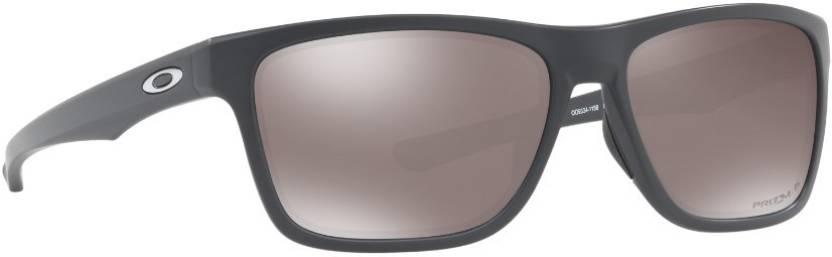 19b033b1e9 Buy Oakley HOLSTON Rectangular Sunglass Black For Men Online   Best ...