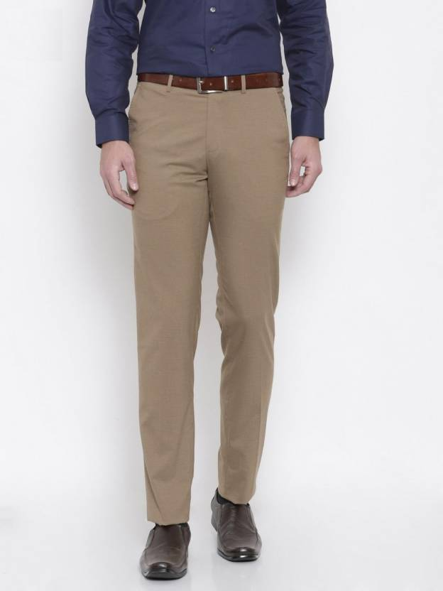 XO Slim Fit Men's Beige Trousers