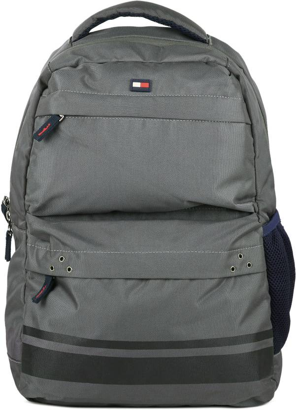 4da0ac7b3 Tommy Hilfiger STONY 24.6 L Backpack GREY - Price in India ...