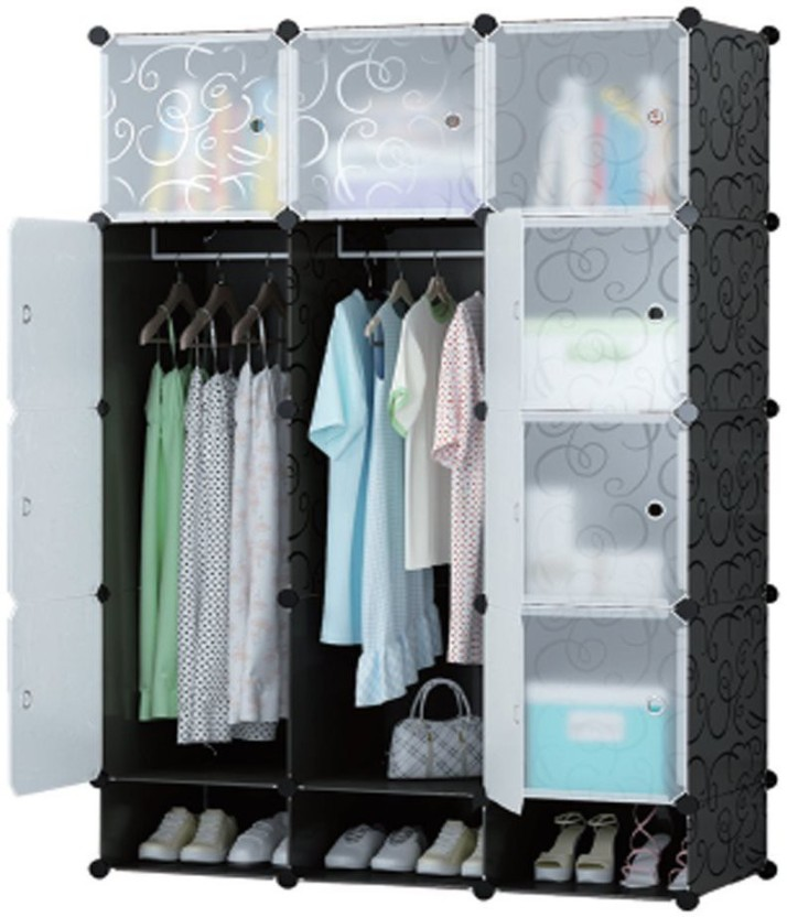 Gentil Continental Multi Use Clothes Organizer, Bookcase, Storage Cabinet, Wardrobe  Closet 110.5 X 47