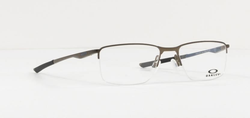 9b495e82cad7a Oakley Half Rim Rectangle Frame Price in India - Buy Oakley Half Rim ...
