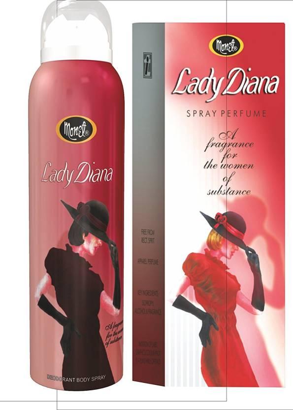 Buy Monet Lady Daina Perfume 100 Ml Lady Daina Deo 120 Ml Eau De